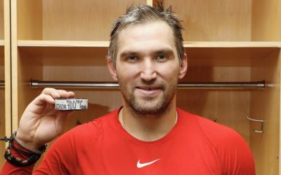 """Moving on"": Ovechkin is the eighth in history scored 700 goals in the NHL"