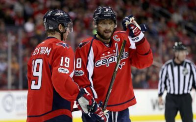 Ovechkin congratulated teammate on his 700th NHL assist