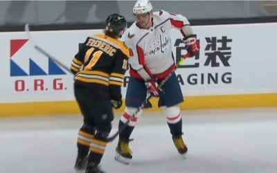 Ovechkin received the maximum possible punishment for hitting an opponent in the groin